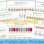 Multiplication Pack - free - math fact families and intro to each set