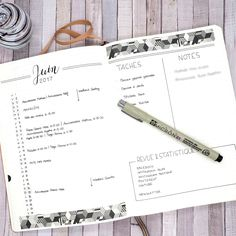 June 2017 in my Bullet Journal - Monthly schedule - Norma D. Organization Bullet Journal, Bullet Journal Notebook, Planner Organization, Bullet Journal Inspiration, Book Journal, Bullet Journals, Journal Ideas, Organizing, Diy Planner