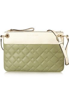 Marc by Marc Jacobs Tread Lightly quilted textured-leather shoulder bag   THE OUTNET