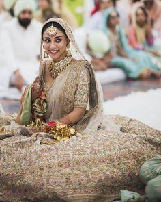 Browse Band Baaja Bride With Sabyasachi for women. Find trending collection of Lehengas, Clutch Bag, Saree, Lehenga. Get the latest updates of Sabyasachi Mukherjee dresses at Happy Shappy. Sabyasachi Lehenga Bridal, Indian Bridal Lehenga, Lehenga Choli, Sari, Pakistani Bridal, Golden Bridal Lehenga, Floral Lehenga, Lehenga Wedding, Blue Lehenga