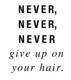 Hair law.
