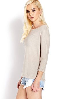 Laid Back Metallic Top | FOREVER 21 - 2031558175