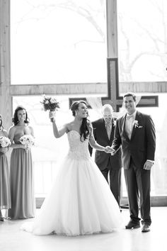 Silver & Lace vintage barn wedding.  photo by The Tarnos.  .
