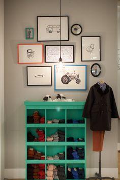 multicolored frames... Caramel kid store Selfridges