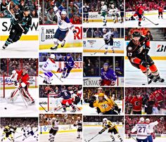 Some of the Americans competing in this year's NHL Playoffs. Stanley Cup Playoffs, Nhl, Baseball Cards, American, Sports, Hs Sports, Sport