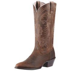 Ariat Brown Magnolia Cowgirl Boots #cowboycupidbemine