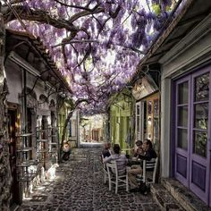 this would be so very Beautiful ---out side my tea room
