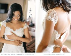 Cream lace dress & shoulder detail | Photo: Christine Meintjes, Dress: Elbeth Gillis