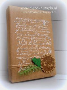 ZieZo Knutsels: Inpakken voor de kerst #1