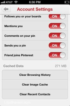 Is Pinterest Stealing your iPhone Memory? How to set your memory free.