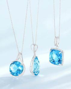 Capture the spirit of summer in beautiful shades of blue from Effy Jewelry.