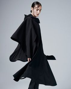 Windproof and waterproof dress designed for style-conscious female cyclists.