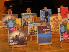 Art Themed Wedding by Nasher Events, via Flickr