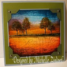 Lovely as a Tree card by Michelle Zindorf