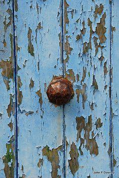 Blue door!