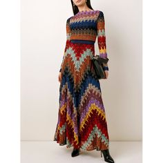 Maxi Dress With Sleeves, Floral Maxi Dress, The Dress, Spring Skirts, Crochet Fashion, Dresses Online, Vintage Dresses, Casual Dresses, Maxi Dresses