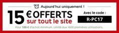 Bon plan : 15 euros offerts dès 100 d'achats chez PriceMinister - http://www.frandroid.com/smartphone/275704_bon-plan-15-euros-offerts-des-100-dachats-chez-priceminister  #Bonsplans, #Smartphones