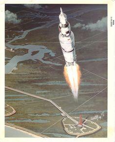 Apollo Space Program, Nasa Space Program, Programa Apollo, Space And Astronomy, Astrophysics, Space Exploration, Cutaway, Spacecraft, Rockets