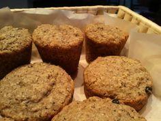 muffin grano saraceno e mirtilli