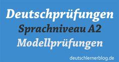 Sprecht ihr schon ein bisschen Deutsch und habt bald eine Deutschprüfung? Seid ihr gut vorbereitet? Möchtet ihr noch mehr üben?