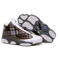 Jordan Shoes Air Jordan 13 Plaid White Grey Brown Black [Air Jordan 13 - Definitely these are very unique and attractive Air Jordan 13 Plaid White Grey Brown Black shoes showed in the picture. With the plaid pattern, the side panels offer the Air Jord Jordan 13 Shoes, Michael Jordan Shoes, Retro Jordans 13, Air Jordans, Nike Basketball, Nike Lebron, Running Shoes Nike, Nike Shoes, Men's Shoes