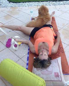 Can a mom do yoga?