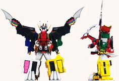 Legendary Megazord - Power Rangers Super Megaforce | Power Rangers Central