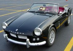 If I could drive one car in the whole world this would be it: 1962 Triumph Spitfire.