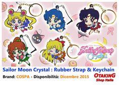 Sailor Moon Crystal Rubber Strap & Keychain! Acquistabili separatamente! Per tutte le info e per acquistarli cliccare qui--> https://www.facebook.com/otakingshopitalia/photos/a.647160035414149.1073741835.643117879151698/720191568110995/?type=3&theater Consegna gratuita a mano su ROMA o spedizione tracciata in tutta Italia!