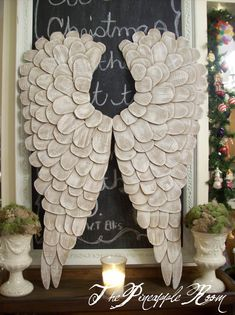 DIY Angel Wings- aren't these adorable?!? <3