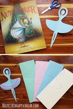 The Nutcracker Ballet Activities and Books ~ Nourishing My Scholar Nutcracker Crafts, Nutcracker Christmas, Christmas Fairy, Xmas, Ballet Crafts, Dance Crafts, Ballet Books, Ballet Art, Ballet Dancers