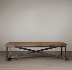 Salvaged Boatwood Coffee Table