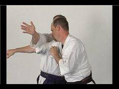 Aikido Techniques : Kubishimi Straight Punch Choke - YouTube