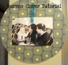 Burner Cover Tutorial