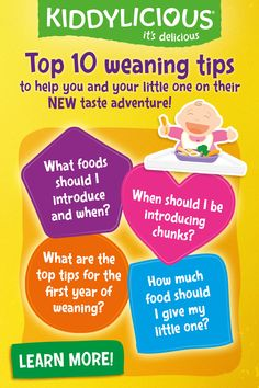 """Once your little one reaches this amazing milestone of weaning, you may have tonnes of questions from """"is my baby ready"""" to """"what food should I try first? Check out our page for hints and tips to help you on your weaning journey Baby Puree Recipes, Baby Food Recipes, Parenting Tips, Kids And Parenting, First Finger Foods, Baby Boy Baptism Outfit, Homemade Baby Foods, Be My Baby, Baby Led Weaning"""