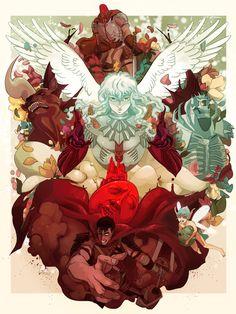 Home / Twitter Griffith Berserk, Heavy Metal, Manga Art, Manga Anime, Bulldog Mascot, Fantasy Artwork, Cool Art, Fun Art, Dark Fantasy