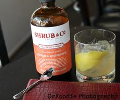 """Due to my longstanding love affair with mezcal, I couldn't resist sampling Aaron Neider's  """"Smoke & Mirrors"""" cocktail made with Sombra mezcal, grapefruit, yellow chartreuse, and grapefruit shrubs by Shrub & Co. The Tasting Room in Frederick, MD"""
