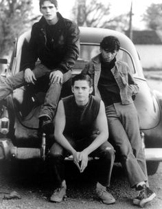 Dallas - Ponyboy - Johnny | The Outsiders. I had the biggest crush on Ponyboy (C. Thomas Howell)!