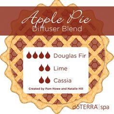 Apple pie - douglas fir, lime and cassia
