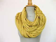 infinity scarves. I make them for everyone :)
