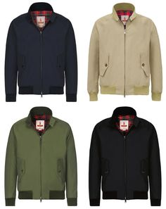 Baracuta G9 Harrington Jacket, SCORPARIA