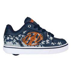 a2a23602376d Heelys Motion Plus - Navy Grey Orange (Kids Shoes