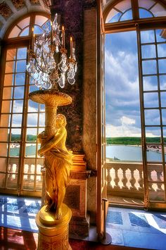 Cupid's Golden Light, Hall of Mirrors, Versailles