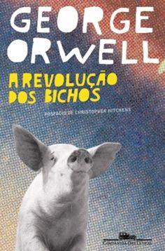 Livro A Revolução dos Bichos. ✓