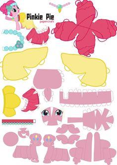 pinkie pie papercraft - Google Search