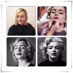 Marilyn Monroe #shooting #makeup #hair Marilyn Monroe, Make Up, Portrait, Tattoos, Artist, Hair, Tatuajes, Portrait Illustration, Japanese Tattoos