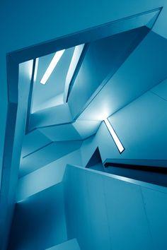 "caesared: "" Symphony of Lines (blue) """