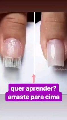 #esmaltadas #loucasporesmaltes #manicuresiniciantes #umanicures #manicuresporamor #manicurebrasileira #unhasqueadmiro #unhasmaravilhosas #unhasperfeitas #unhasalongadas😍💅 #manicure #fibradevidro #nails #nailsofinstagram #nailsart #amorporunhas Capsule, Black Girls Hairstyles, Manicures, Perfect Nails, Ongles, Nail Salons, Polish, Nail Manicure, Manicure
