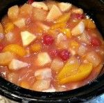 Hot Fruit Salad (in the Slow Cooker)