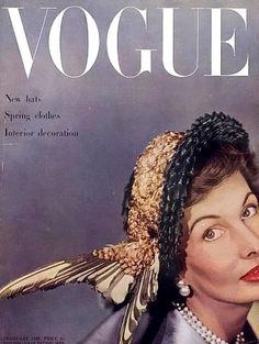 Barbara Goalen, photo by Clifford Coffin, February 1949*